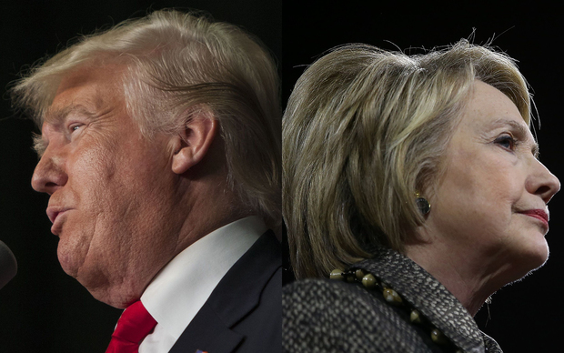 Donald Trump and Hillary Clinton are the frontrunners in the race for the White House nomination.
