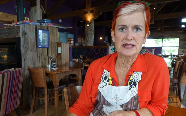 New Plymouth cafe owner is asking for compensation from Port Taranaki because a paid parking trial at the lee breakwater has left her out of pocket.