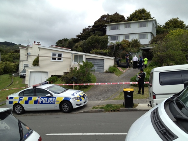 The scene at Sunrise Boulevard, Tawa.