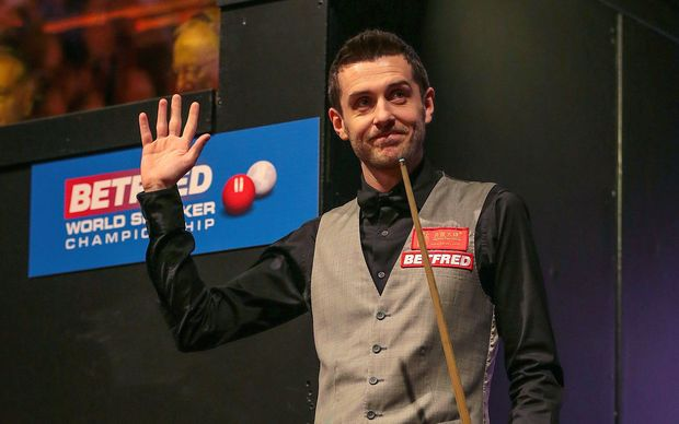 English snooker player Mark Selby.