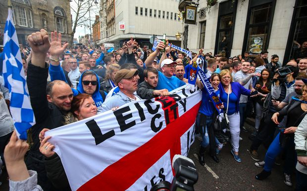 Leicester fans can celebrate - their side is EPL champions.
