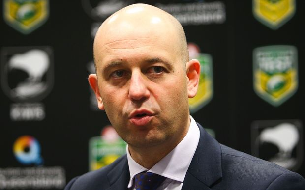 NRL chief executive Todd Greenberg