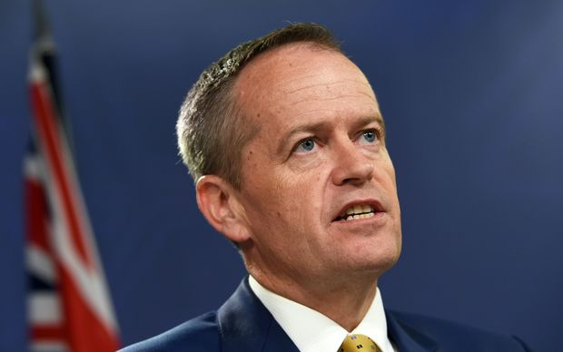 Australia's opposition Labor Party leader Bill Shorten.