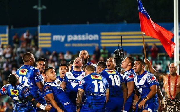 Samoa too strong for Tonga in the 2016 Pacific Test.
