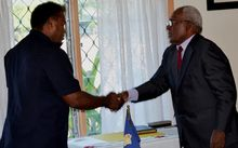 Governor General Sir Frank Ofagiaro Kabui