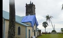 Several historic buildings in the UNESCO world heritage site of Levuka, Fiji were damaged by Cyclone Winston