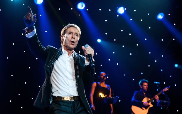Cliff Richard performs during the 'Still Reelin' And A-Rockin' tour at the Ziggo Dome in Amsterdam, May 2014