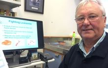 Molecular geneticist Geoff Chambers at Wellington's Victoria University