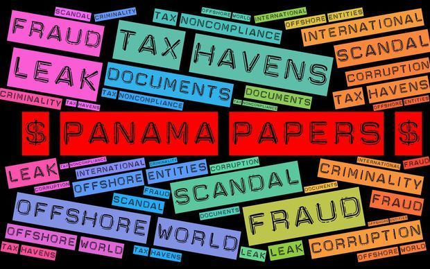 panama papers montage
