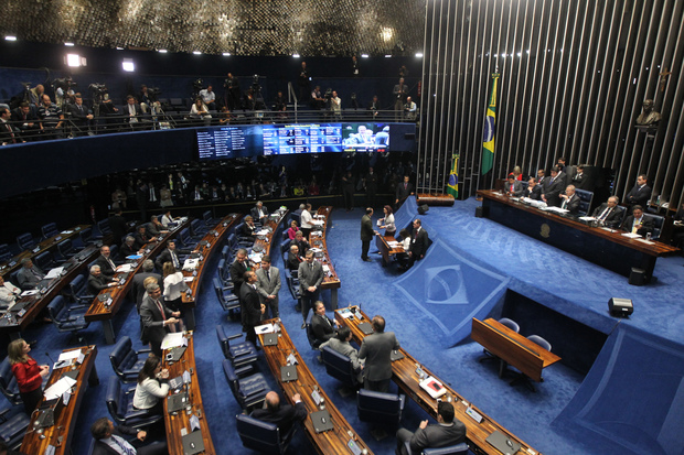 The Brazilian Senate in plenary session.