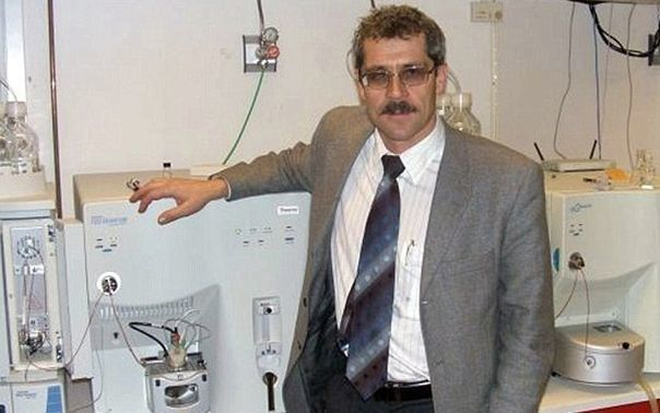 The former head of the Russian anti-doping laboratory Grigor Rodchenkov.