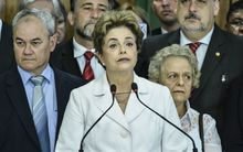 President Dilma Rousseff denounced the impeachment vote as a coup.
