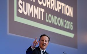 David Cameron at the Anti-Corruption Summit