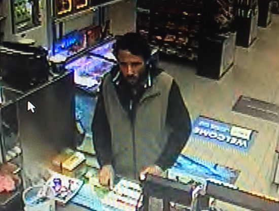 The police are looking for a robber who held up a service station in Ashburton last night.