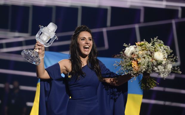 Jamala, winner of the Eurovision Song Contest 2016.