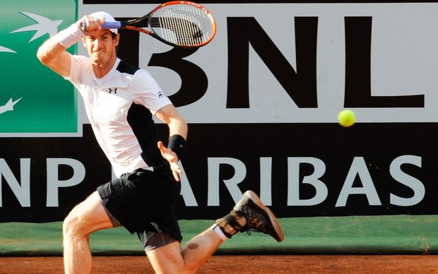 Andy Murray at Italian Open 2016.