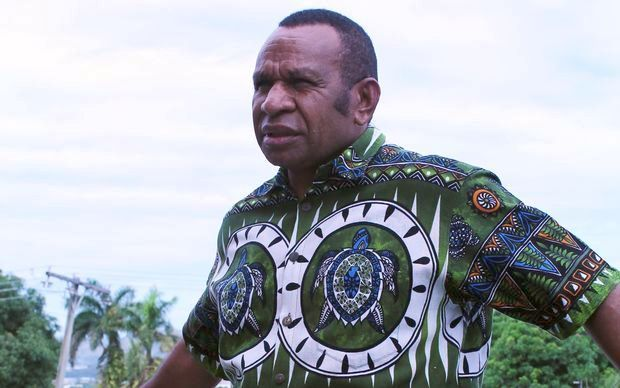 Papua New Guinea MP for Vanimo-Green, Belden Namah.