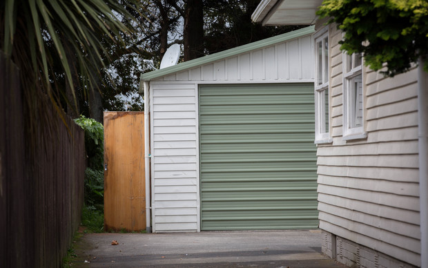 A garage in South Auckand