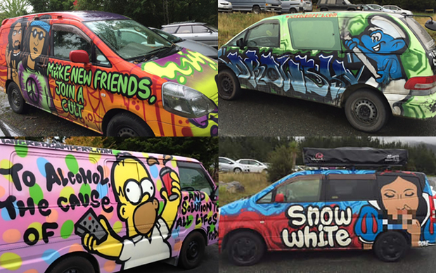338c56957f no caption. Photo  NZ Classification Office. A Wicked Campers van ...