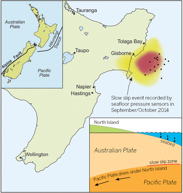 Investigating slow slip earthquakes with HOBITTS | RNZ