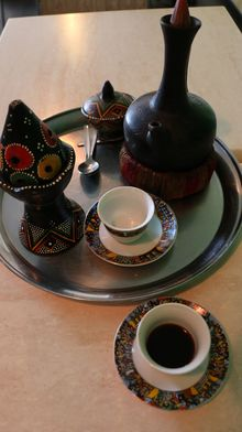 Ethiopian Coffee at Cafe Abyssinia, Mt Roskill