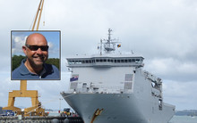 Philip Wiig and the Devonport Naval base