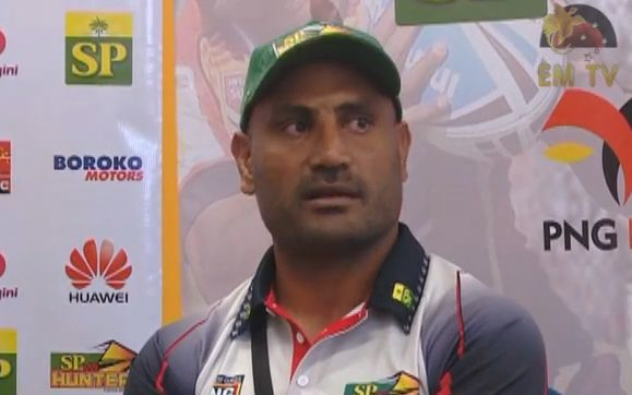 PNG Hunters coach Michael Marum.