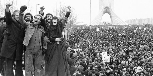 Iranian Revolution in Shahyad Square