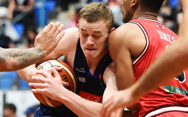 Nelson's Finn Delany is one of four newcomers in the Tall Blacks.