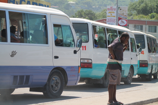 Public Motor Vehicles, Port Moresby, Papua New Guinea.