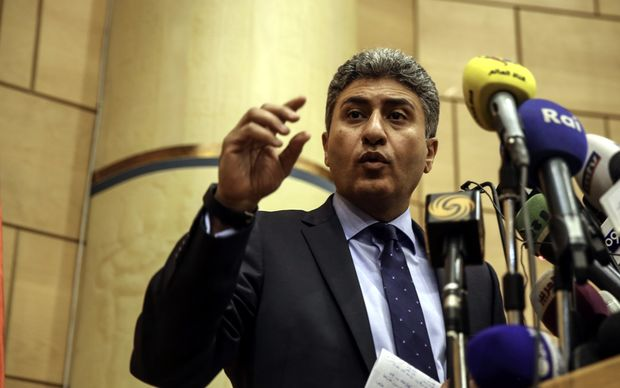 Egypt's aviation minister Sherif Fathi