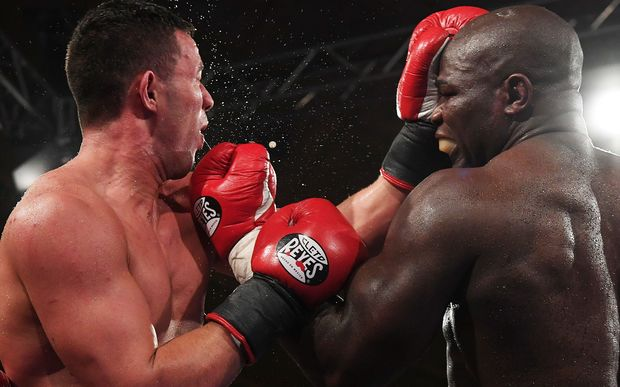 New Zealand Heavyweight boxer Joseph Parker v French Cameroon boxer Carlos Takam.