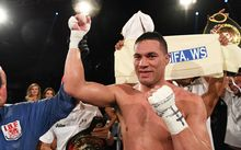 New Zealand Heavyweight boxer Joseph Parker v French Cameroon boxer Carlos Takam. IBF eliminator.
