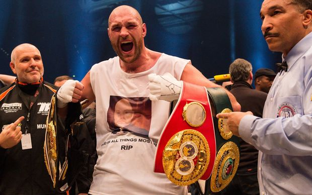 Tyson Fury was impressed by Joseph Parker's win.