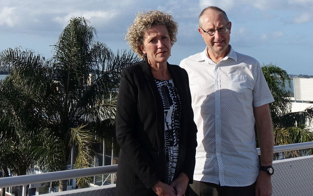 Annie Hill and Max Mason of Tauranga and Western Bay of Plenty Economic Development Agency.