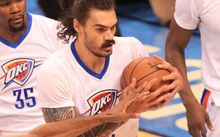 Oklahoma City's Steven Adams.