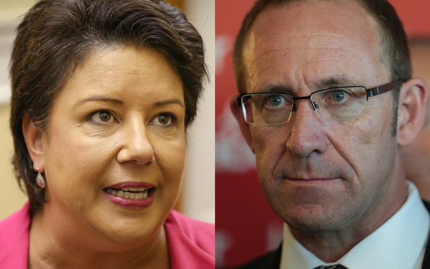 Paula Bennett and Andrew Little