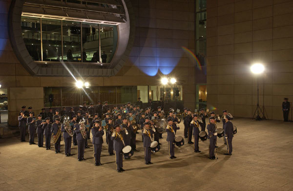 Royal New Zealand Airforce Band at Te Papa
