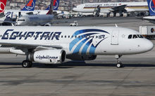 An EgyptAir plane is seen parked the terminal in Istanbul Airport Ataturk on May 20, 2016. Debris including seats and personal belongings from EgyptAir Flight 804 which crashed in the Mediterranean carrying 66 people on Thursday was found 180 miles north of Alexandria,