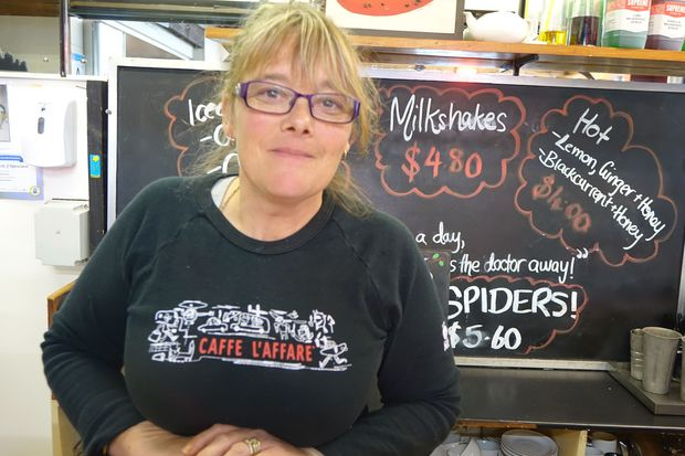 Housing Patea Cafe owner Michelle Woollett says she's noticed new faces in town.