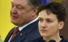 Ukrainian pilot Nadiya Savchenko returned home to a hero's welcome after nearly two years in a Russian prison.