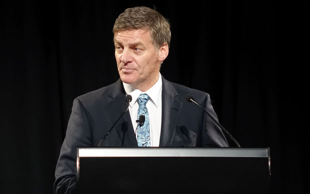 Finance Minister Bill English delivers Budget 2016.