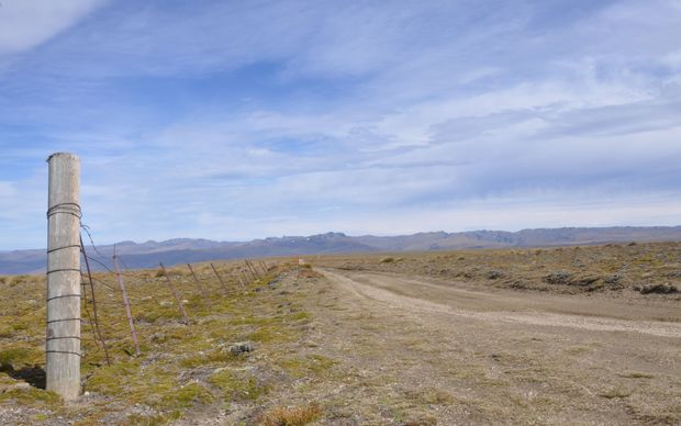 The network of 4WD tracks on top of Old Man Range, Central Otago, are themselves relics of the quest for gold in these hills.