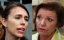 Labour spokesperson for children Jacinda Adern and Minister for Social Development Anne Tolley.
