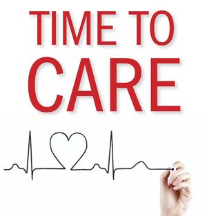 Time to Care book cover art