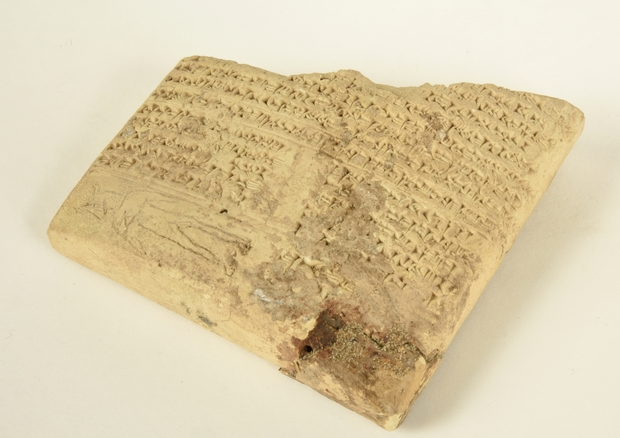 Cuneiform Ledger Tablet - Gift of Lindsay Rogers; Otago Museum Collection