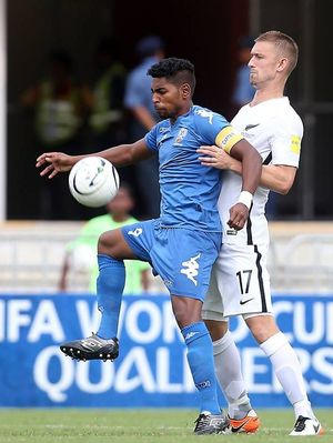 Fiji captain Roy Krishna is his country's chief scoring threat.