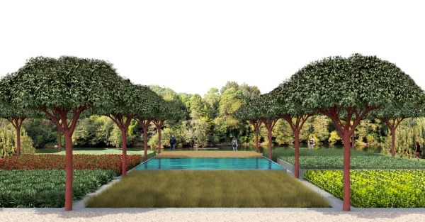 Concept plans for new developments at the Hamilton Gardens