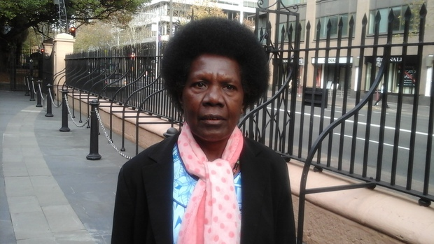 First woman to win an open seat in Bougainville, Josephine Getsi