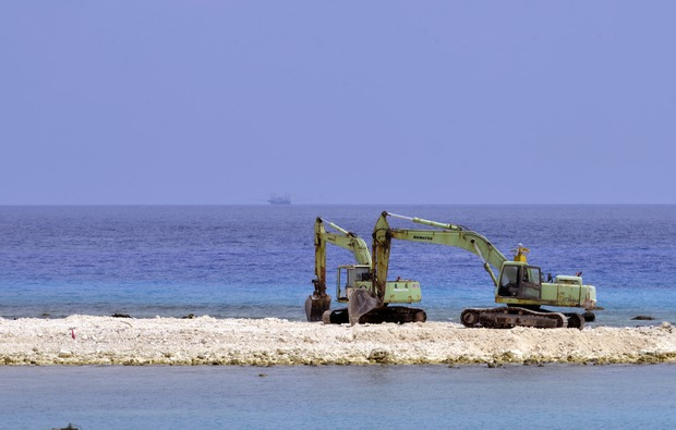 China claims islets in South China Sea
